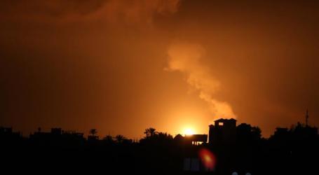 Israeli Warplanes Attack Parts of Gaza Strip