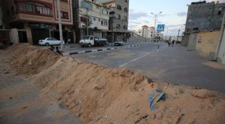 Imposed Lockdown, Gaza Shuts Down Protocol Roads