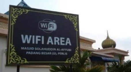 DMI to Install Wifi Internet in Mosques for Students