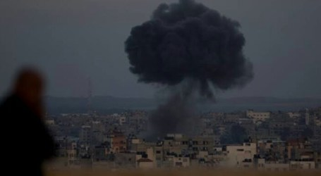 Israel Continues to Launch Air Strike on Gaza Strip