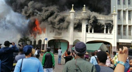 A 139-year-old Mosque Fire in Durban, South Africa