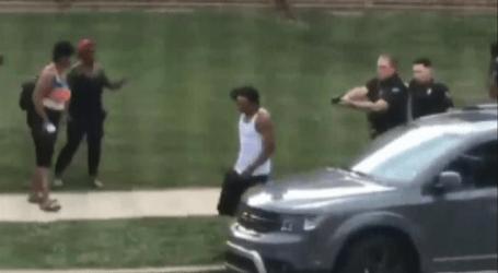 The US Police Shot 7 Times Jacob Blake on the Back