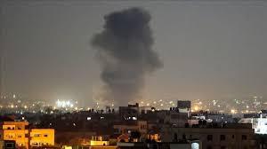 Israeli Fighter Jets Attack Hamas Post on Sunday ight