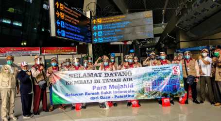 As 19 Volunteers of Indonesian Hospital in Gaza Returned