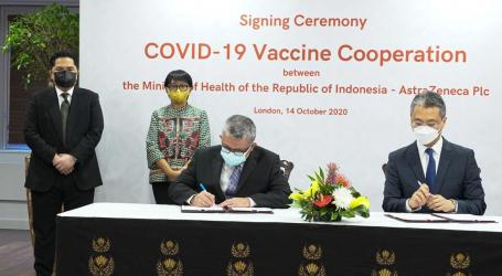 Indonesia Secures Supply of 100 Million Vaccines from London