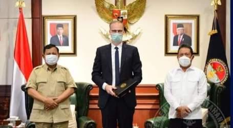 Minister Prabowo Receives Visit of Danish Ambassador