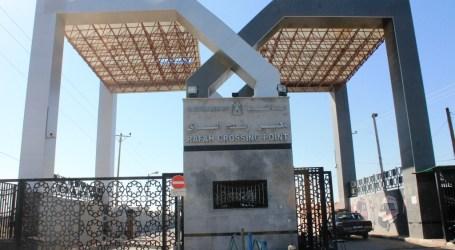Rafah Border to Open in Three Days, 24-26 November