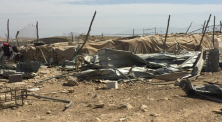 Israel Issues Demolition Orders Against Palestinian Structures in South of West Bank