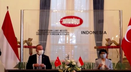 Indonesia-Turkey Affirm Commitment to Support Palestine