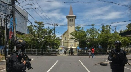 Suicide Bomb in Front of Makassar Cathedral Church