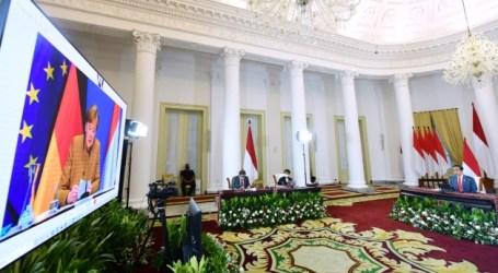 Jokowi-Merkel Holds Virtual Bilateral Meetings