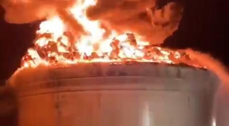 Gaza Rockets Destroy Israeli Oil Refinery