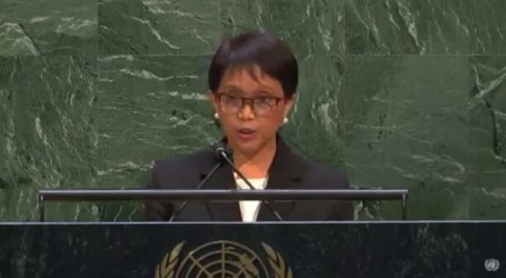 """At The UNGA, Indonesian Foreign Minister Called Israel A """"Colonial State"""""""