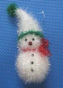 '圣诞饰品雪人'