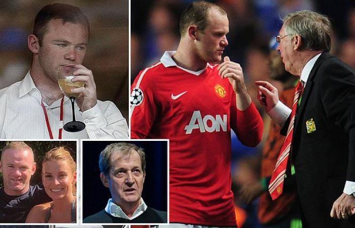 sport news Sir Alex Ferguson 'said Wayne Rooney couldn't handle his alcohol'. reveals ...