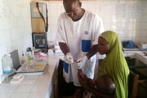 Free malaria screening test