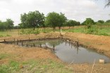 Water retention basin