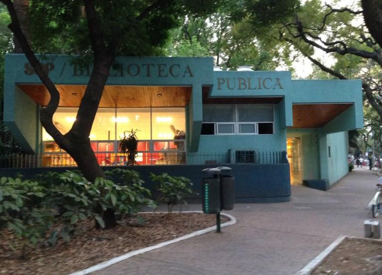 Resultado de imagen para biblioteca amalia cruz en el parque méxico