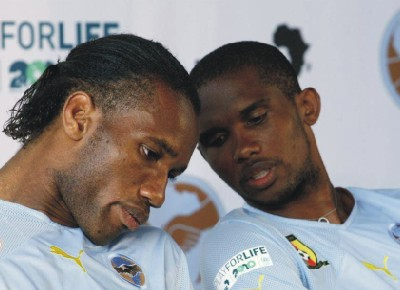 Didier Drogba and Samuel Eto'o join the CAF Race.