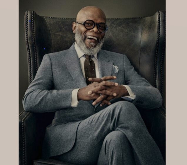 Samuel Jackson,  the African American, now Gabonese!