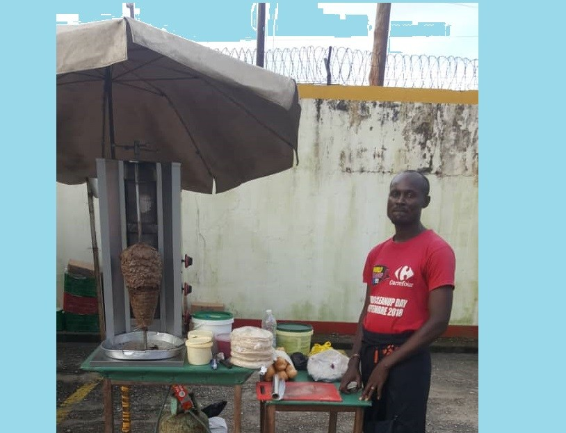 "Cameroon: The ""Shawarmas"" of Marius at the shows of Miss&Master start-up"