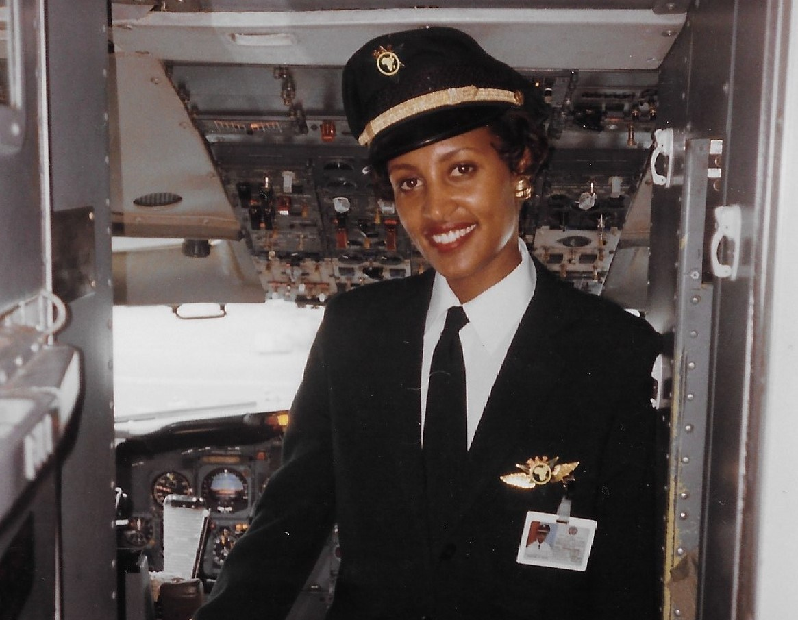SOPHIA GHEZAI: THE FORMER ETHIOPIAN PILOT, HAS BECOME AN EXPERT IN AIRLINE SAFETY IN THE US
