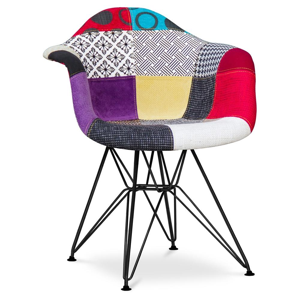 Chaise Design Patchwork | Teppiche Für Allergiker Geeignet