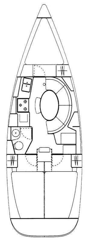 Yacht for sale > sailing boat Sun Odyssey 34.2 «Ondine