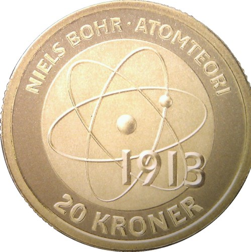 small resolution of 20 kroner margrethe ii niels bohr and the bohr model