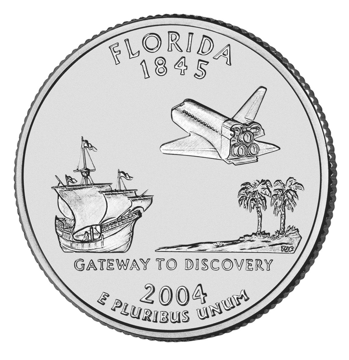Dollar Washington Quarter Florida