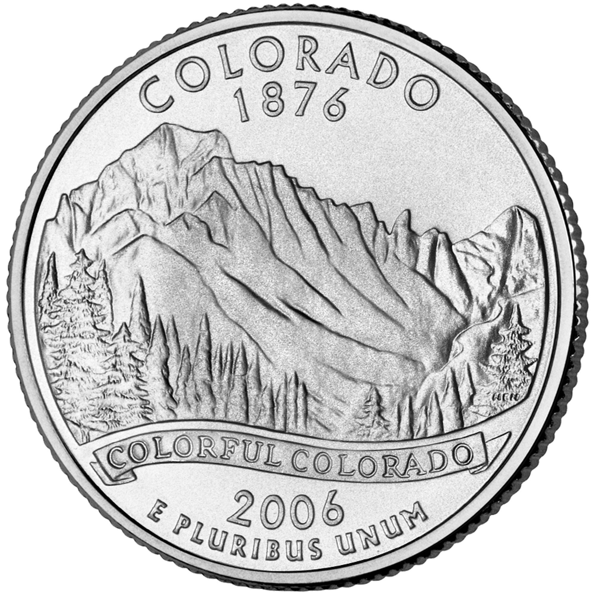 Dollar Washington Quarter Colorado