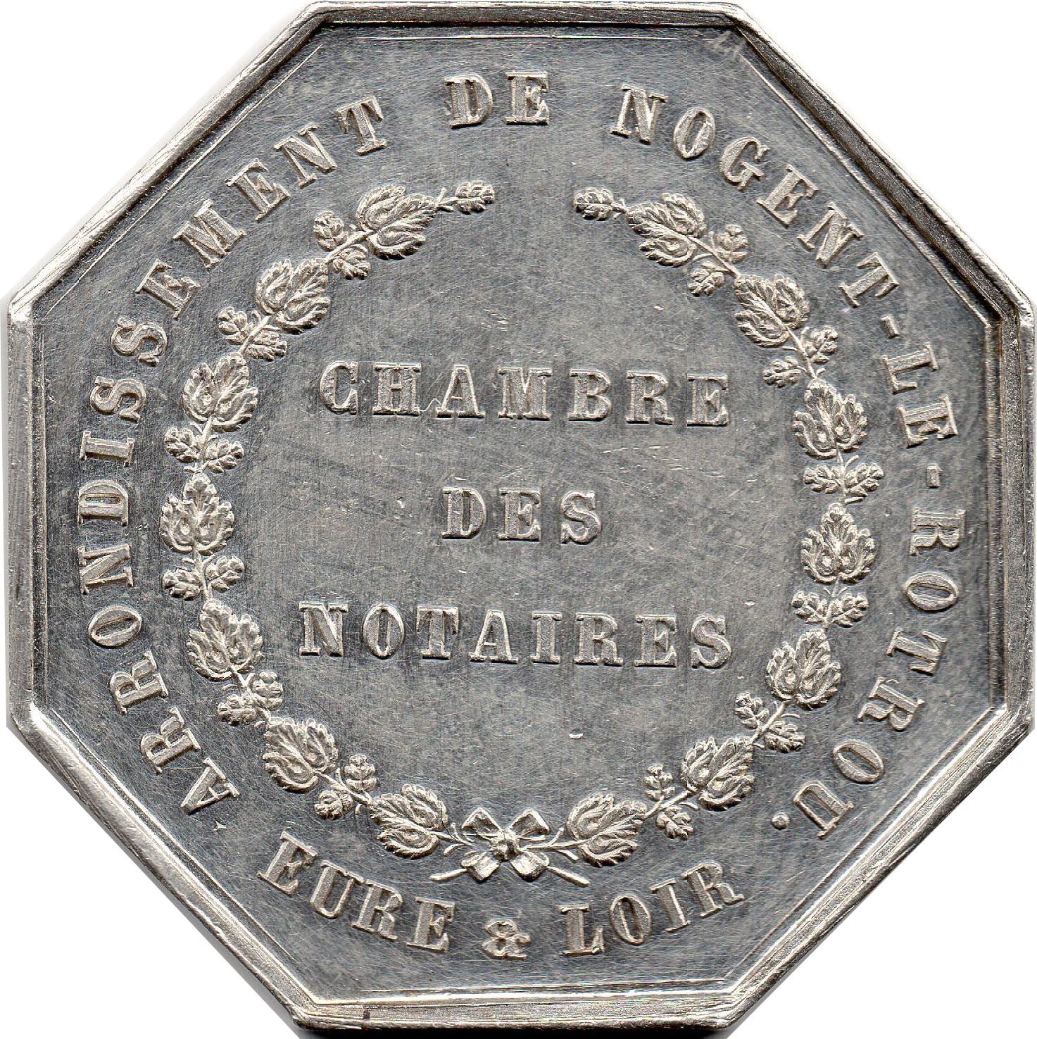 Jeton de la Chambre des Notaires dEure et Loir   Tokens   Numista