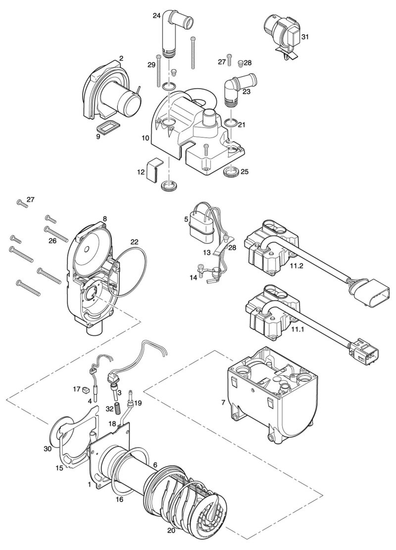 5tfh3 2004 buick lesabre v fitting the water pump block together with 0260v need diagram serpentine