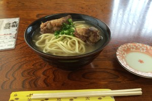 Soki Soba (Miyako Soba with Pork Rib)