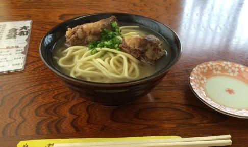 Soki Soba (Miyako Soba with Pork Rib)