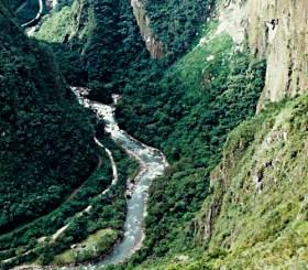 Urubamba River Machu Picchu
