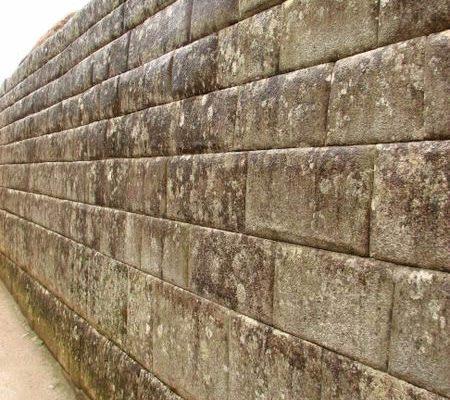 Perfect ashlar wall in Machu Picchu