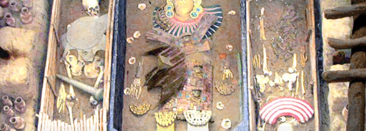 El Señor de Sipán en el Museo Tumbas Reales