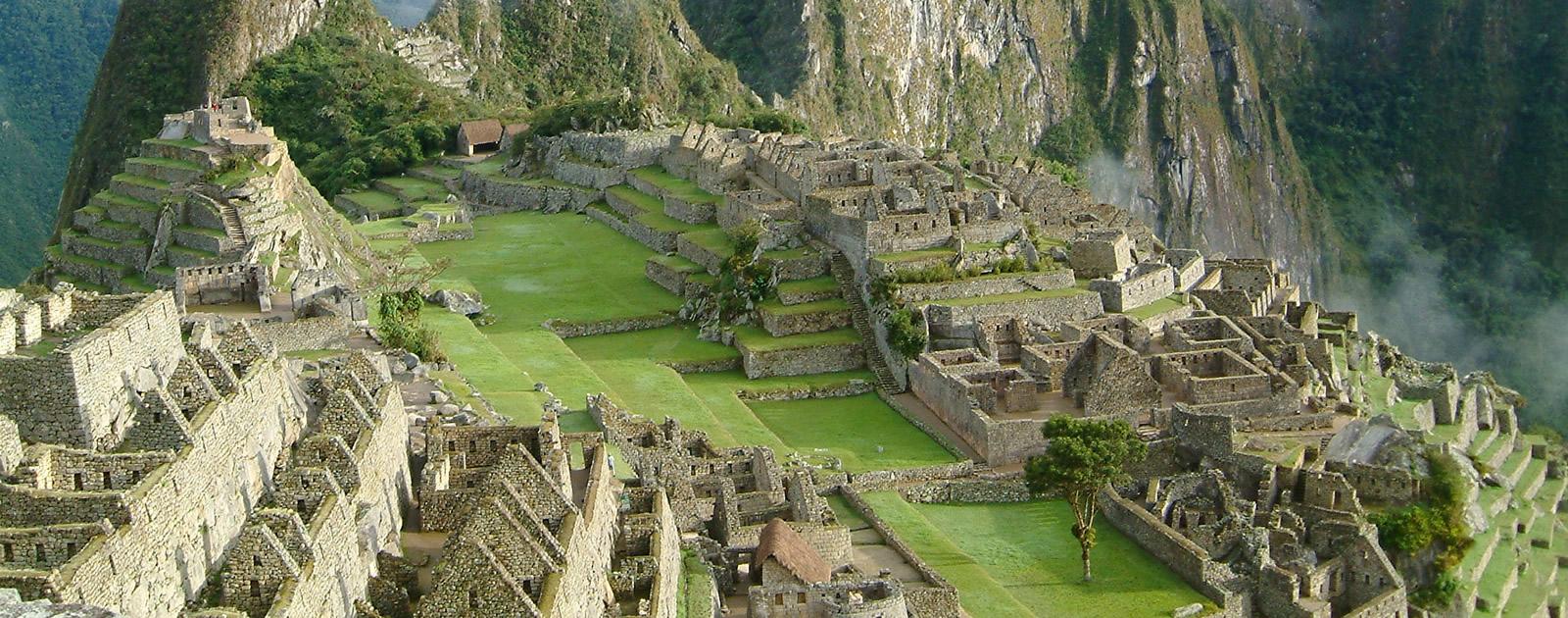 Peru Machu Picchu Sonnenuntergang