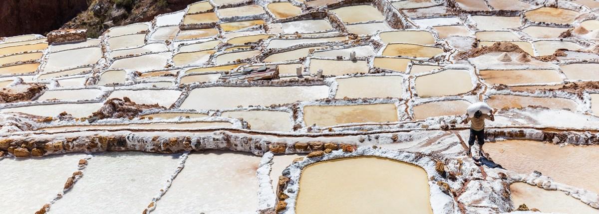 The salt pans of Maras