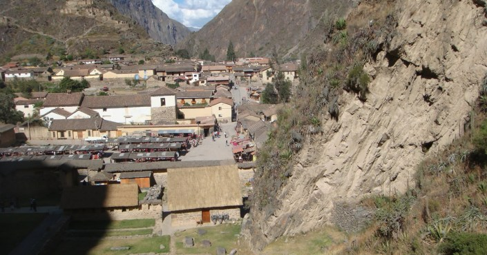 Ollantaytambo - the last city in the Sacred Valley of the Incas