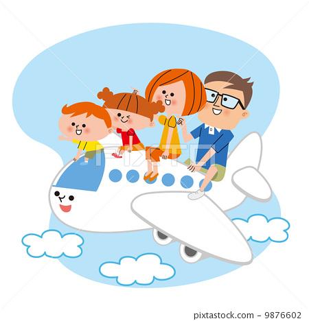 家庭旅行-插圖素材 [9876602] - PIXTA圖庫