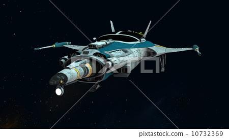 太空飛船-插圖素材 [10732369] - PIXTA圖庫