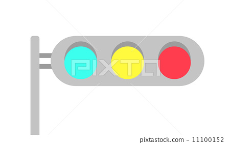 交通燈-插圖素材 [11100152] - PIXTA圖庫