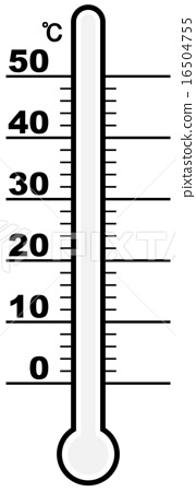 Thermometer (Temperature can be freely set like a painting