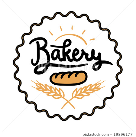 Logo Or Label For Bakery And Bread Shop Stock Illustration