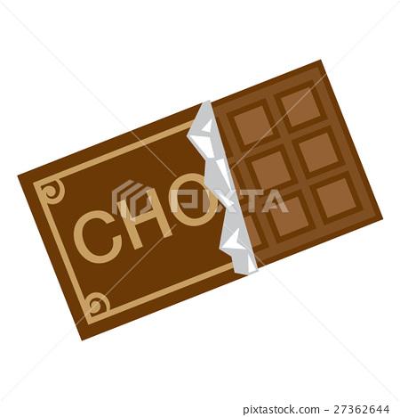 巧克力-插圖素材 [27362644] - PIXTA圖庫