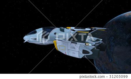 太空飛船-插圖素材 [31203099] - PIXTA圖庫