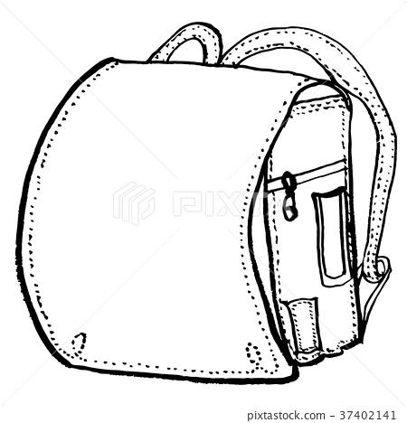書包-插圖素材 [37402141] - PIXTA圖庫