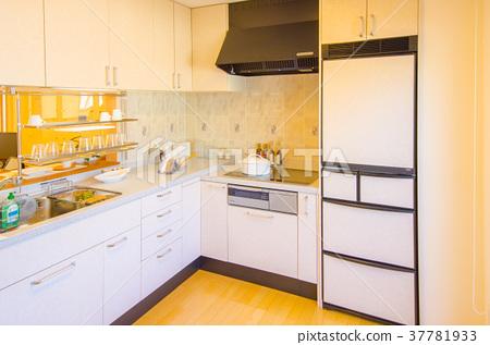 kitchen showrooms mini light pendant for island 陈列室样板房厨房 图库照片 37781933 pixta 陈列室样板房厨房37781933